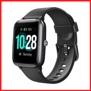 Letsfit Smart Watch, Tracker With Heart Rate Monitor, 1.3 Inch Touch Screen.