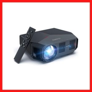 Projector, COOAU 5500 Lumens Outdoor Movie Projectors<br />