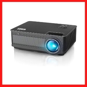 WiMiUS Upgrade P18 8000L LED Movie Projector