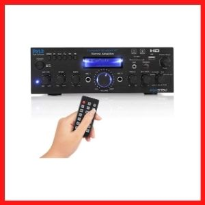 Wireless Bluetooth Home Stereo Amplifier - Multi-Channel 200 Watt Power Amplifier Home Audio Receiver System