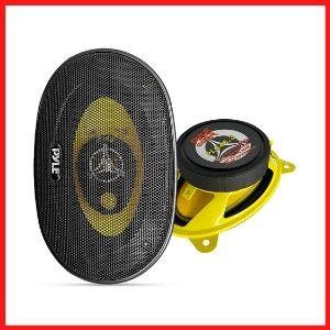 Car Three-Way Speaker System - Pro 4 x 6 Inch<br />